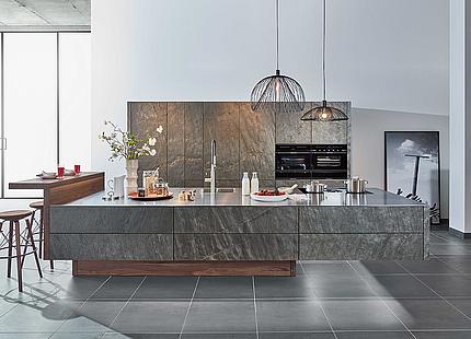 zeyko Küche Forum Stone mit Steinfronten