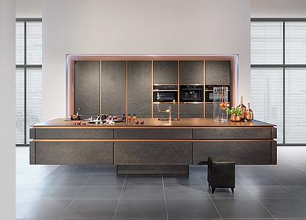 zeyko Küche Horizon Forum Stone mit Kupfer