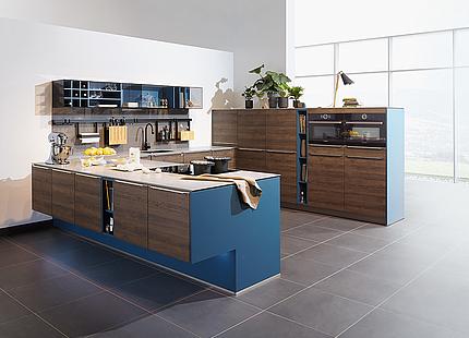 zeyko Küche Planeo Repro blau
